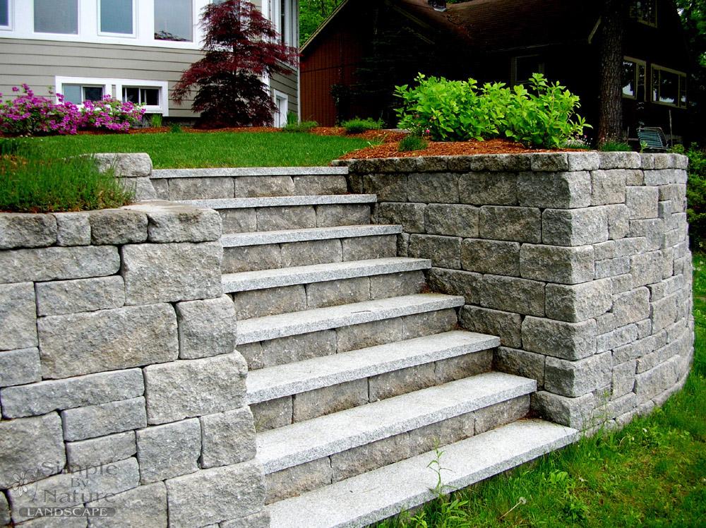 Custom Stone Walls, Walkways U0026 Patios