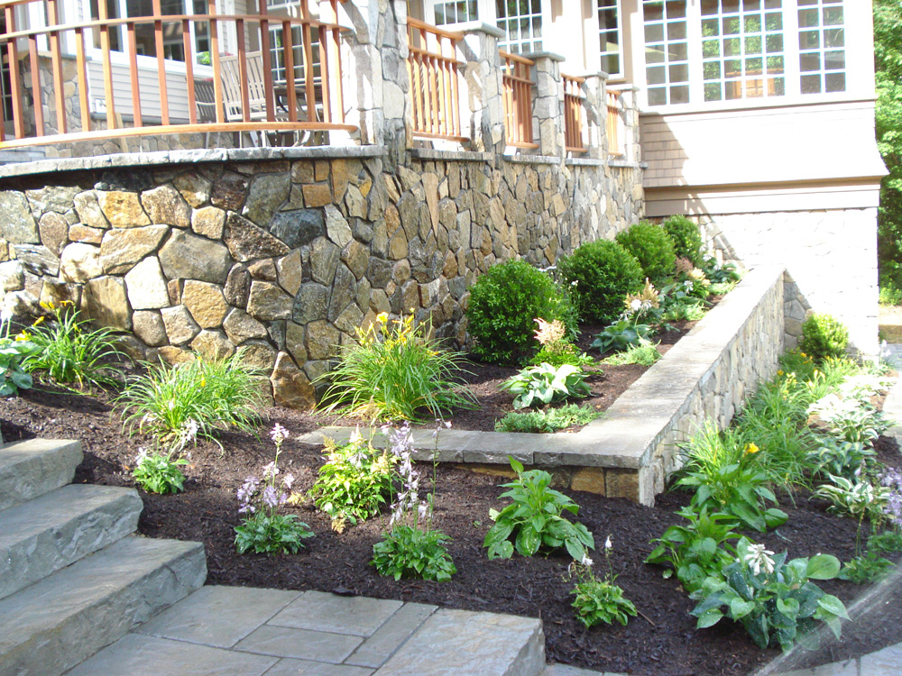 Residential landscape projects simple by nature landscape for Residential landscape plan