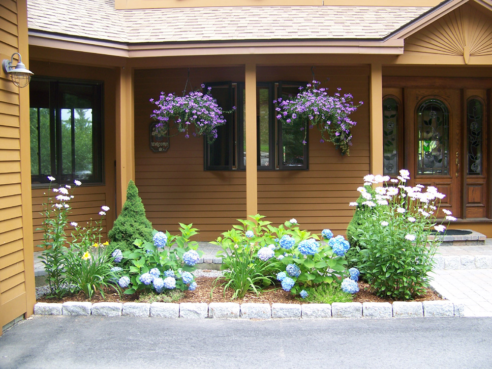 Residential landscape design simple by nature landscape for Perennial landscape design